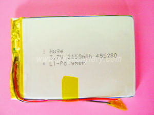 3.7V Rechargeable Lithium -Polymer Battery (455280) pictures & photos