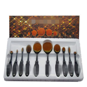 Professional Cosmetic Brush Set Toothbrush Style Oval Multi-Purpose Makeup Brush pictures & photos