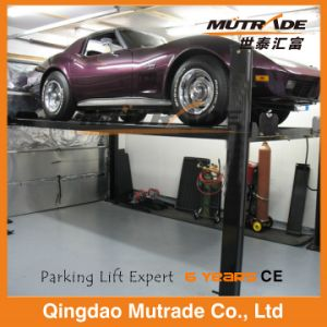 3ton Four Post Hydraulic Smart Car Parking Lift pictures & photos