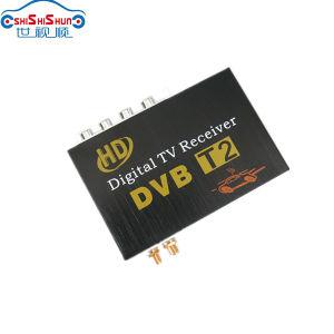 Double Tuner 120~150km/H HD Car DVB-T2 Digital TV Receiver
