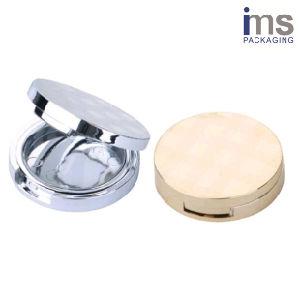 Round Plastic Blush Compact Case pictures & photos