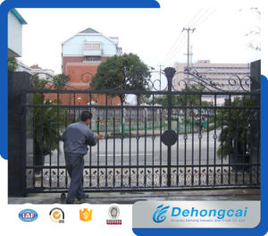 Simple Decorative Security / Safety Sliding Gate with High Quality pictures & photos