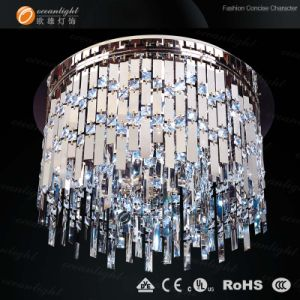 Crystal Lamp Stainless Steel New Chandeliers Ceiling Light Om8320 Dia60cm pictures & photos