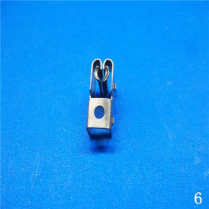 Phosphor Copper Nickel Plated Stamping Precision Terminal pictures & photos