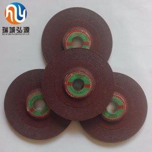 Depressed Centre Grinding Wheel for Metal Abrasive with MPa Certificates pictures & photos