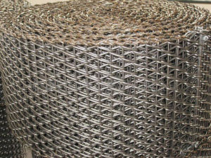 Stainless Steel Furnace Wire Belt pictures & photos