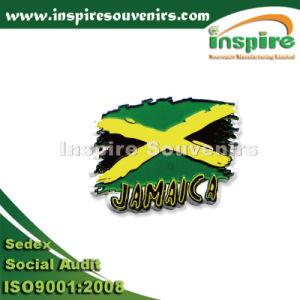 Jamaica Sunrise Palmtree Soft PVC Fridge Magnet pictures & photos