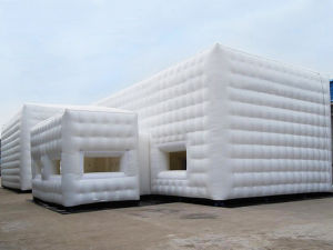 Waterproof White Inflatable Cube Tent for Party (CYTT-576) pictures & photos