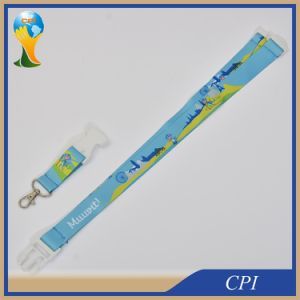 Cartoon Logo Dye Sublimation Printing Lanyard for Promotion Gift pictures & photos