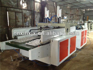 Heat Sealing Heat Cutting Water Bag Making Machine pictures & photos