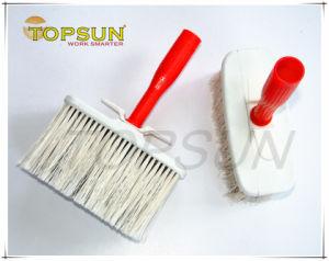 Plastic Handle White Head Masonry Brush
