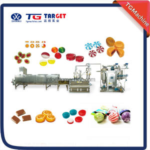 Multifunctional Servo Driven Hard Candy Depositing Line pictures & photos