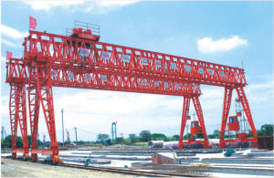 CE Approved Double Girder Truss Gantry Crane pictures & photos