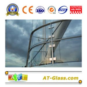 3.4mm-19mm Bent Tougehened Glass/Tempered Glass/Deep Processing, Polishing Edging, Hole Punching pictures & photos