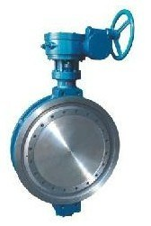 Ductile Iron Body and Disc Double Flange Butterfly Valve pictures & photos