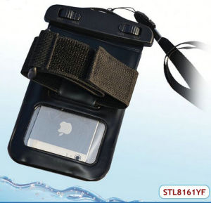 China ABS and PVC Waterproof Beach Bag for Any Phones Less Than 4.8 Inch