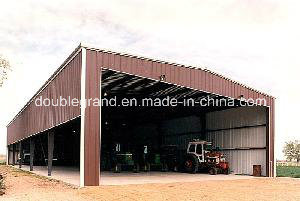 Professional Design Prefabricated Steel Structure Building/Steel Shed pictures & photos