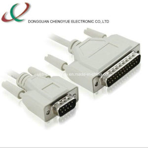 VGA-02 Db9 Male-Db25 Male Cable