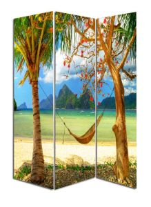 Beautiful Landscape Pattern Room Screen Divider