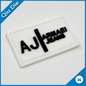 High Quality Relief Effect Eoft PVC Garment Label pictures & photos