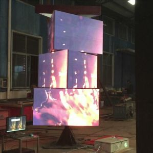 Creative P5 360 Degree Rotation LED Video Display Indoor