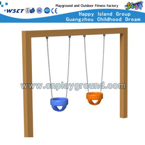 Careful Outdoor Playground Baby Swing Set with CE (HD-SW-W004) pictures & photos