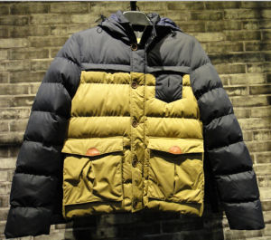 Fashion Siyu Brand Contrast Yellow Padding Lightweight Jackets pictures & photos