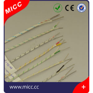 High Temp K Type Glass Fiber Braid Thermocouple Extension Wire pictures & photos