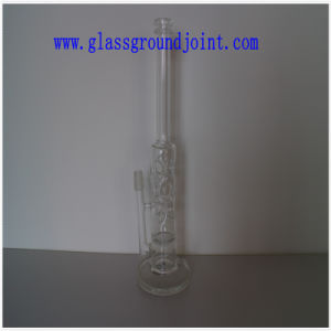 Glass Pipe with Ground Joint for Hookah pictures & photos
