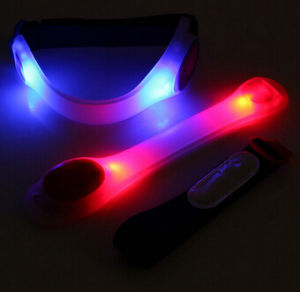 Cheap Silicone LED Light up Armband