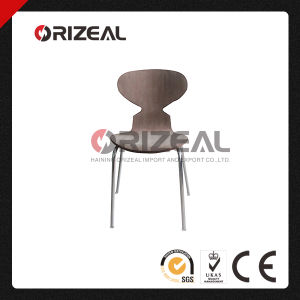 Wholesale Modern Plywood Chairs with Metal Legs Support Oz-1128 pictures & photos