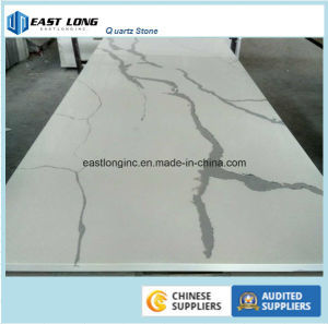 Calacatta White Quartz Stone Countertop pictures & photos