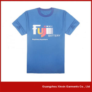 OEM Factory Silk Screen Printing T-Shirts for Promotion with Your Own Logo (R73) pictures & photos