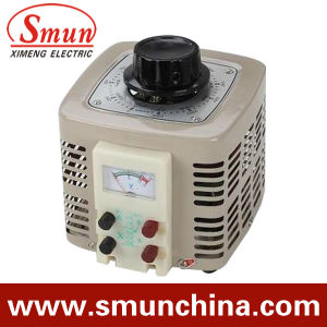 3kVA Contact Voltage Regulator Input 220VAC Single Phase Output 0~250VAC pictures & photos
