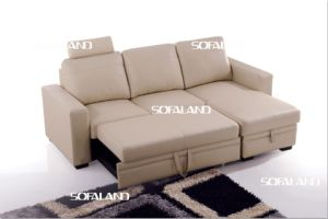 Extended Sofa Bed 753# pictures & photos