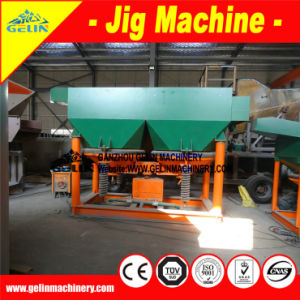 Gold/Copper/Barite/Chrome/Iron/Manganese Ore Mining Separating Jigging Machinery pictures & photos