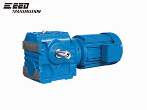 S Helical Worm Gearboxes with Flange Output pictures & photos