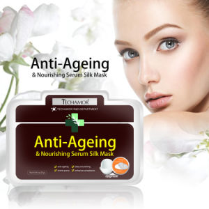 Anti Aging Whitening Personal Care 100% Nature Silk Mask pictures & photos