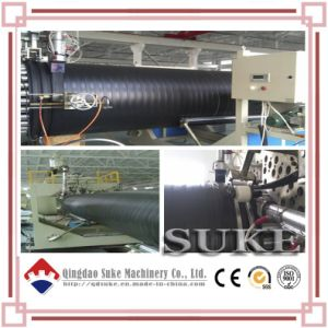PE Steel Reinforced Winding Pipe Making Machine pictures & photos