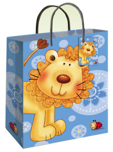 Animal Gift Paper Bag (BS-012)