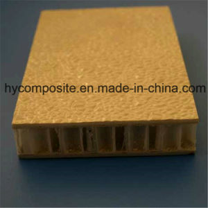 Pebble Embosed FRP Coated PP Honeycomb Sandwich Panel for Partition pictures & photos