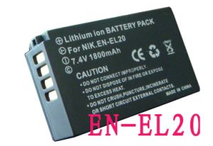 ENEL20 EN-EL20 Battery for Nikon