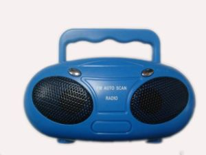 FM Auto Scan Mini Battery Powered Radio