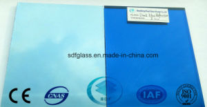 Dark Blue Reflective Glass with Ce, ISO (4 TO 10mm)