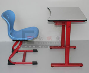Customized Classroom Furniture Student Single Desks Chairs Sets pictures & photos