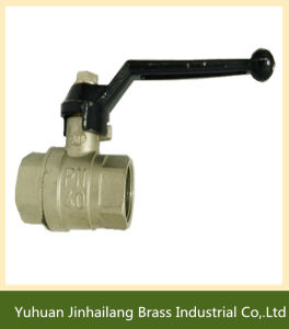 Professional Supplier Brass Ball Valve 600 Wog Water with Aluminum Handle