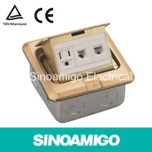 Scs Standard Floor Socket Connectingup Arrangement of Wire Conductor Arrangement Thimble Sokcet Boxes pictures & photos