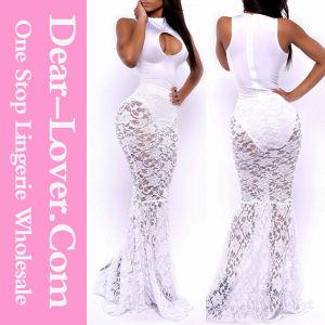Opulent Allure Mermaid White Lace Ladies Wedding Bridal Dress pictures & photos