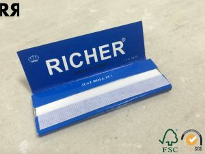 18/20GSM Printed Cigarette Rolling Paper Fsc. SGS Accessed pictures & photos