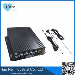 4-CH HD Vehicle Mobile Digital Video Recorder with Two SD Cards Built-in 4G GPS WiFi Modules pictures & photos